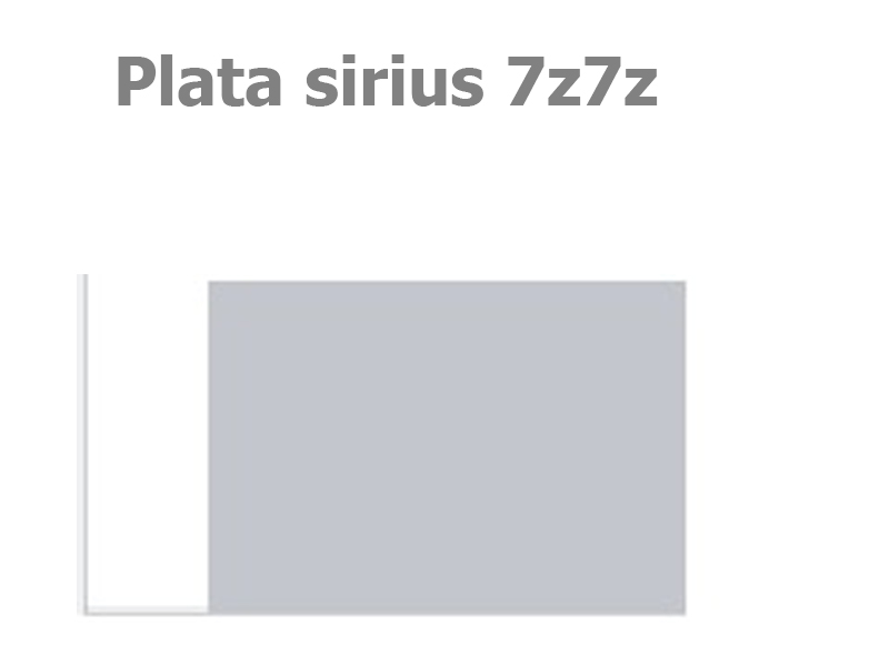 código de pintura volkswagen plata sirius 7z7z