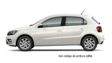 VW Gol Blanco lb9a