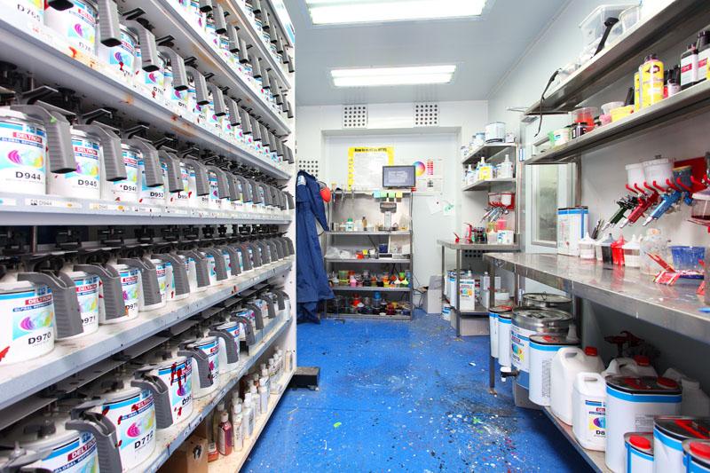 laboratorio de pintura ppg