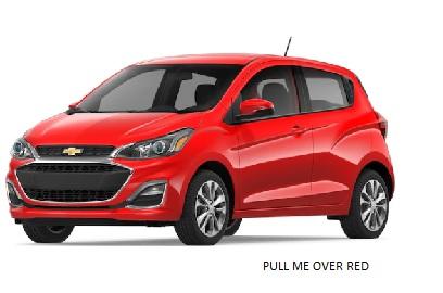 Chevrolet spark 2020 rojo