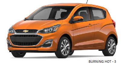 Chevrolet spark 2020 BURNING HOT - 3