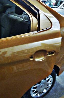 código de pintura EES de ford