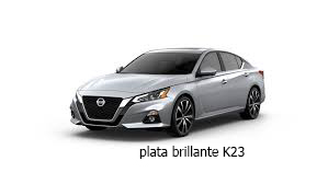 Nissan plata brillante K23