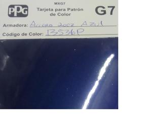 Código de pintura B536P