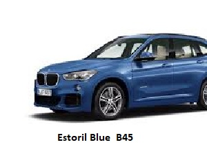 BMW Estoril Blue B45