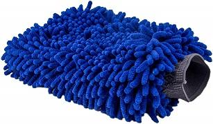 manopla de microfibra para lavado de auto
