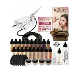 17 tonos de Fundación Kit de sistema de Maquillaje Cosmético Aerógrafo Opulence Blush Bronceado