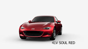 Mazda rojo 41v soul red