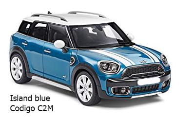 color para mini cooper azul