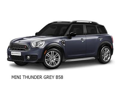 Mini cooper thunder grey