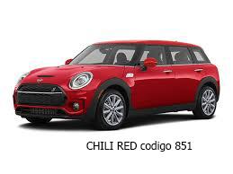 MINI COOPER CHILI RED
