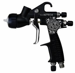 Sagola Limited Edition 3300 Gto Azteca Matt Negro Gravedad Pistola EPA 1.4mm