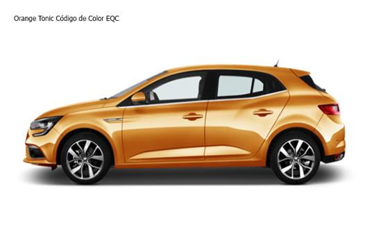 Orange Tonic Código de Color EQC