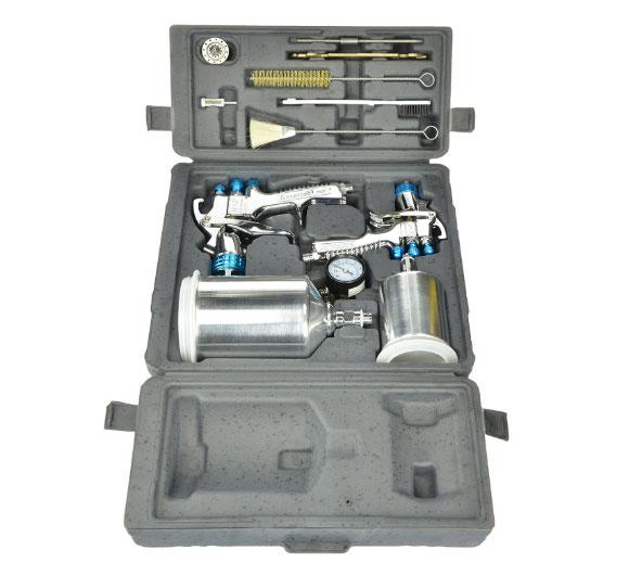 DeVilbiss 802342 StartingLine HVLP kit de pistola de pulverización por gravedad