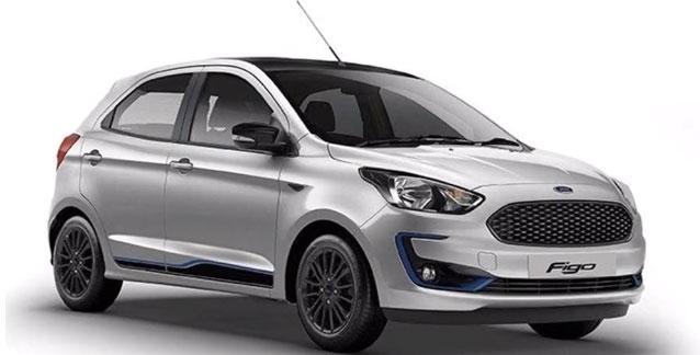 2019 Ford Figo Silver Color (Moondust Silver)