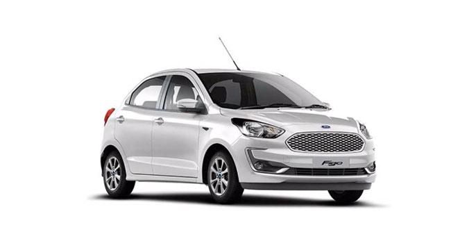 Ford Figo White Color
