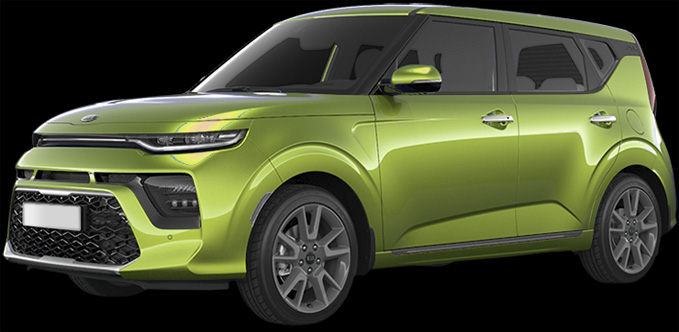 KIA SOUL SPACE CADET GREEN