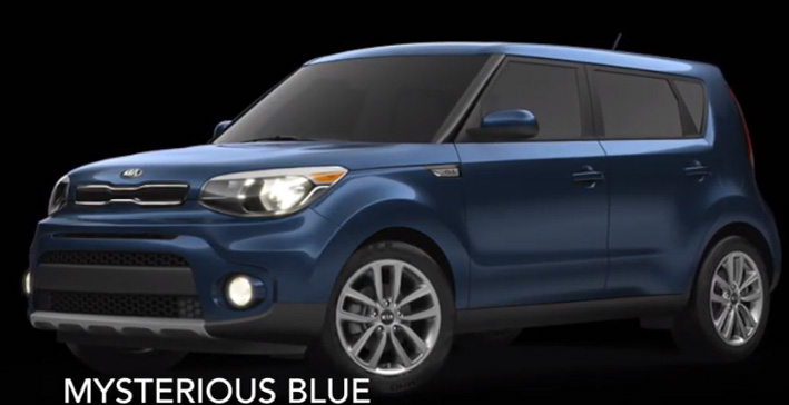 KIA MYSTERIOUS BLUE