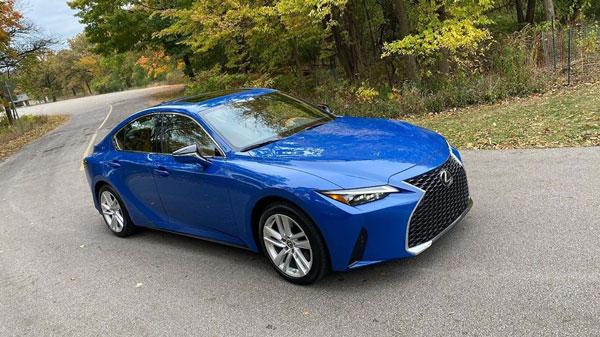 automóvil color azul