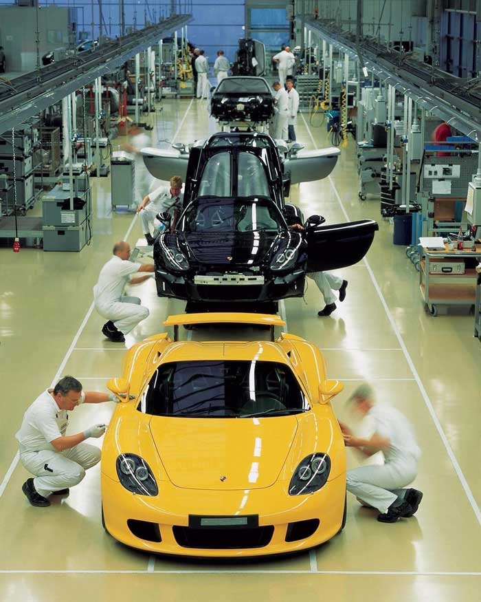 fabricación de autos