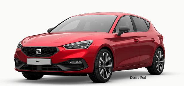 Seat León Desire Red