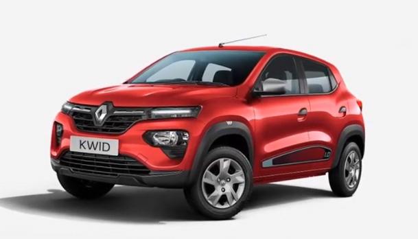 Renault Kwid colores 2019